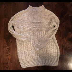 Sweaters - Grey over sized sweater
